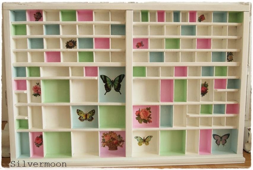 silvermoon mein setzkasten in pastell. Black Bedroom Furniture Sets. Home Design Ideas