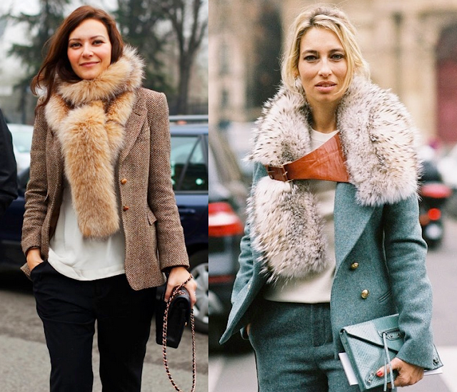 fur is a new fashion shawl stole