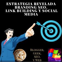 En la estrategia de SEO para branging de una empresa, marca a o sitio web la importancia de los enlaces por medio del link building y social media como aliados. Estrategia revelada de marketing SEO.