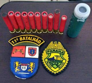 Roncador: Polícia prende rapaz com dez munições intactas