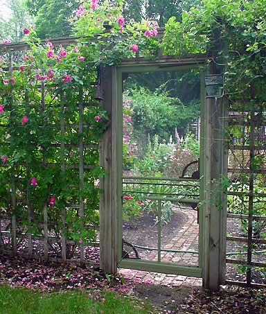 Dishfunctional designs the upcycled garden volume 2 for Garden door designs