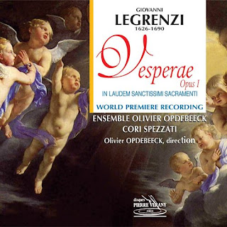 Legrenzi - Vesperae Op.1