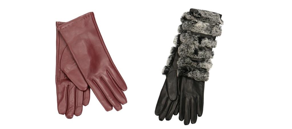 Rękawiczki dotykowe skórzane Gino Rossi