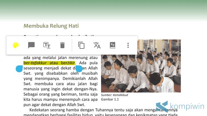 membaca pdf