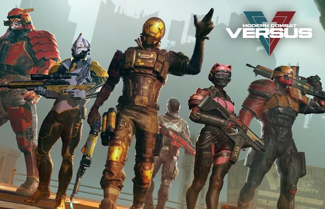 Game Modern Combat Versus Sudah Tersedia