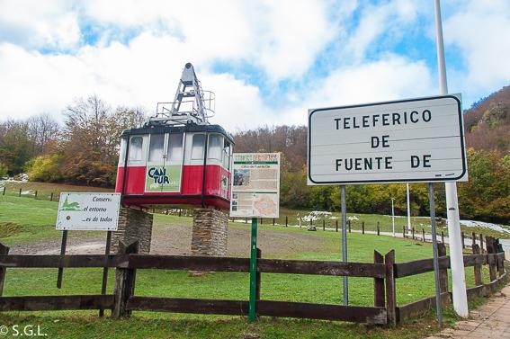 Teleferico de Fuente De
