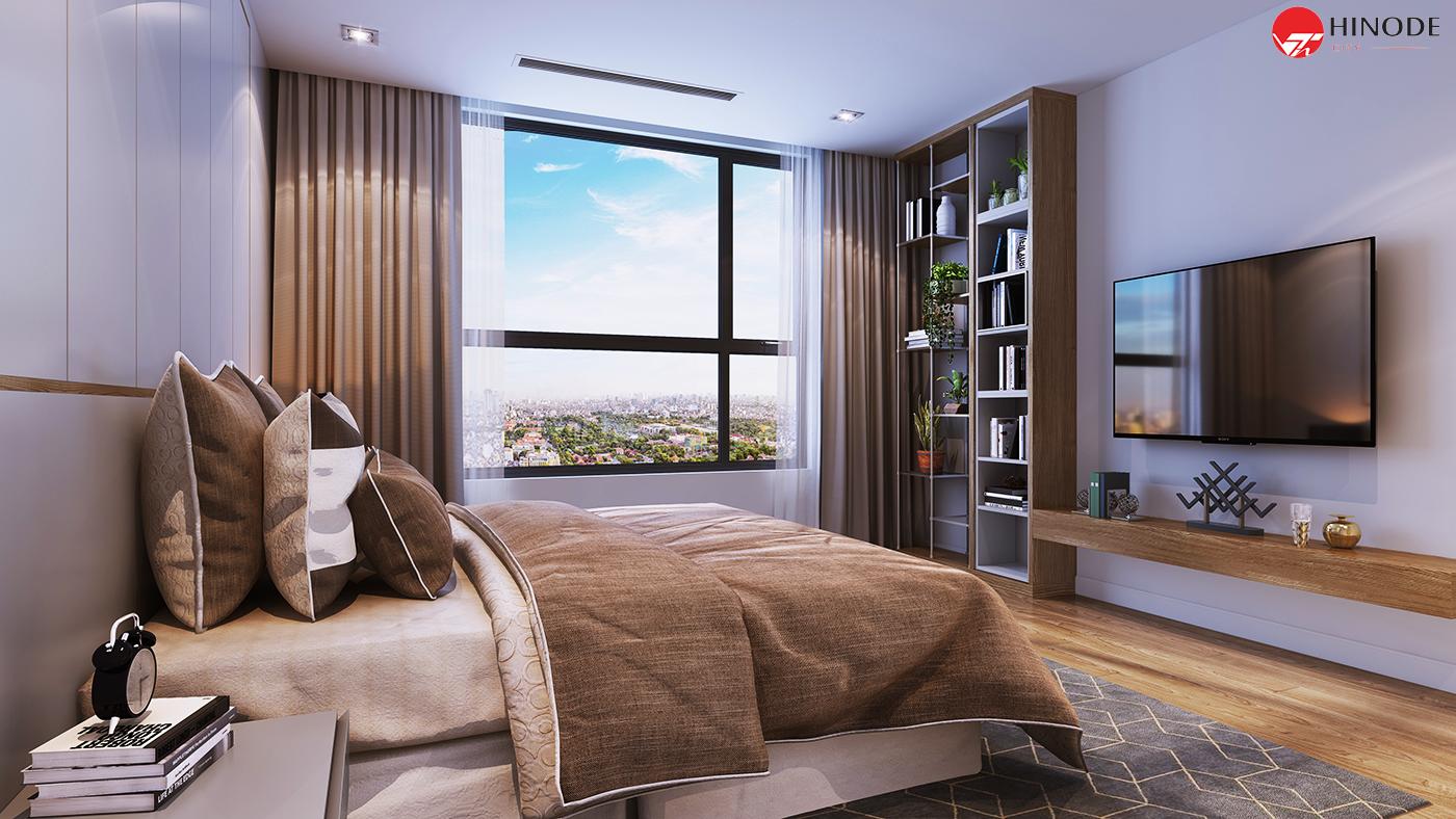 Phòng ngủ của dự án Hinode City 201 Minh Khai
