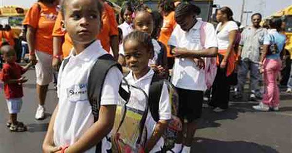 an analysis of the majority of children attending a public school Black children across the south now attend majority-black schools at levels not seen in four decades  central high school opened to serve all public high school students in the district—no.
