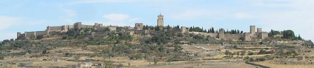 Ciudadela; murallas; Trujillo; Cáceres; Extremadura