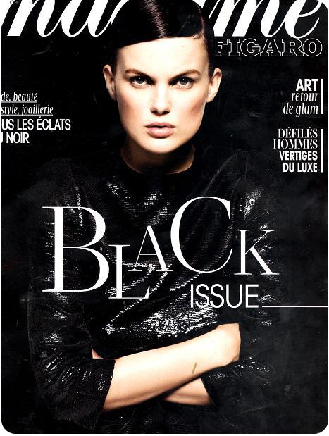 f13cbc56d6d Madame Figaro voit la mode en noir - La Ptite Bulle D Elo