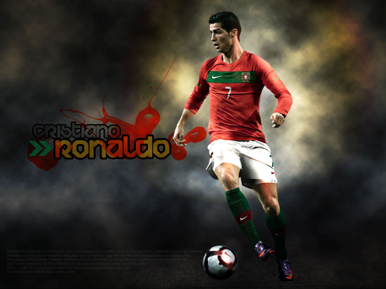 Cristiano Ronaldo HD Wallpapers 2012-2013