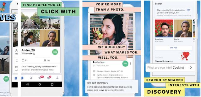 8 Aplikasi Special Hari Valentine Cari Jodoh Terbaru Dan Populer Di Tahun 2019 Untuk Android Maupun IOS