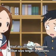 Karakai Jouzu no Takagi-san Episode 12 END Subtitle Indonesia