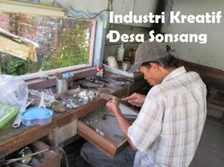 Industri Kreatif Pembuatan Cincin Desa Sonsang