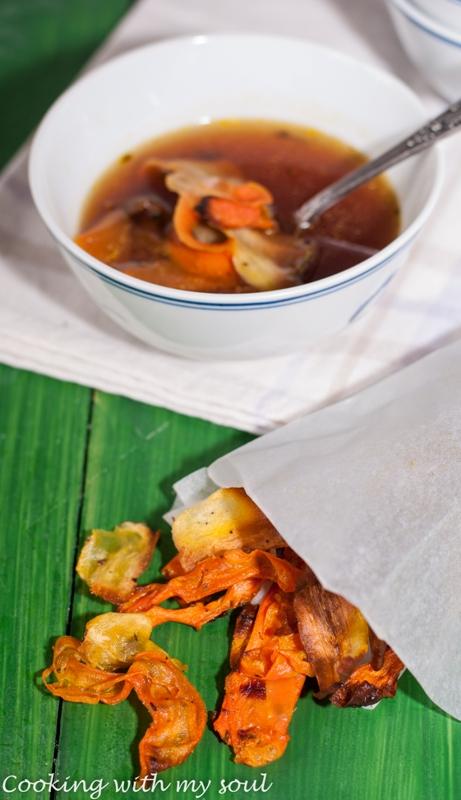 Chipsuri de morcov si pastarnac