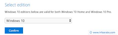 تحميل ويندوز 10 النسخة الاصلية النهائية من مايكروسوفت مجانا