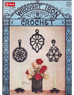 Lily Mills Design Book 74, Wrought Iron Crochet