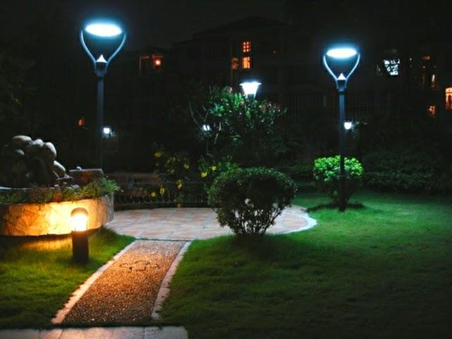 Dolce Hogar Consejos Para Iluminar Cada Zona De Tu Jardin - Luminarias-para-jardin