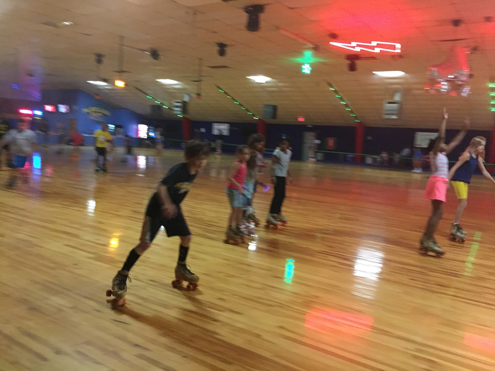 Boys, two cats, and a dog… This is our life on a blog: Roller Skating