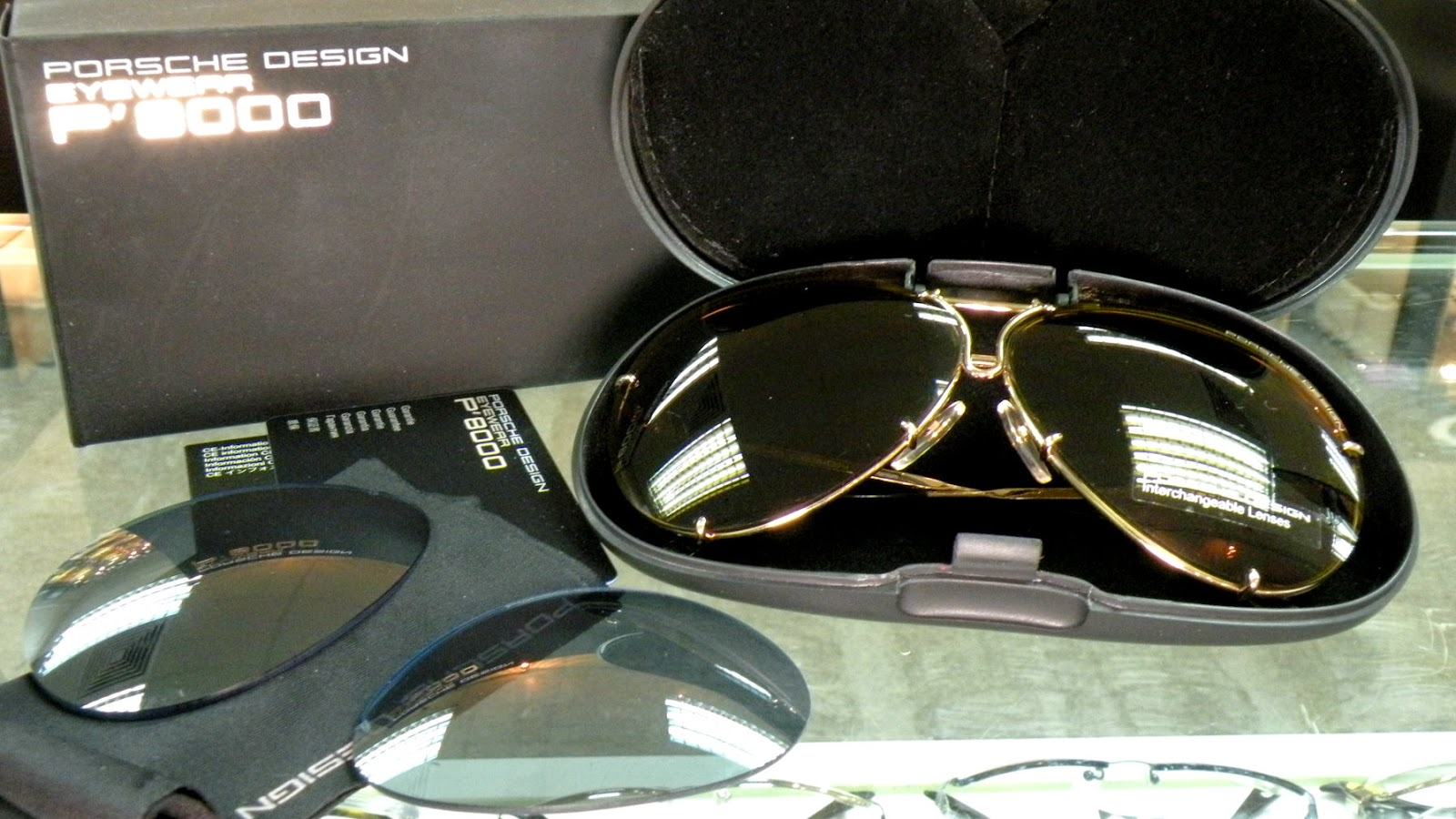 Porsche Design aviator sunglasses P8478