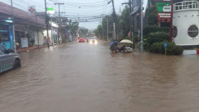 Flooding on Koh Samui