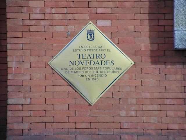 Incendio en el Teatro Novedades (Madrid).
