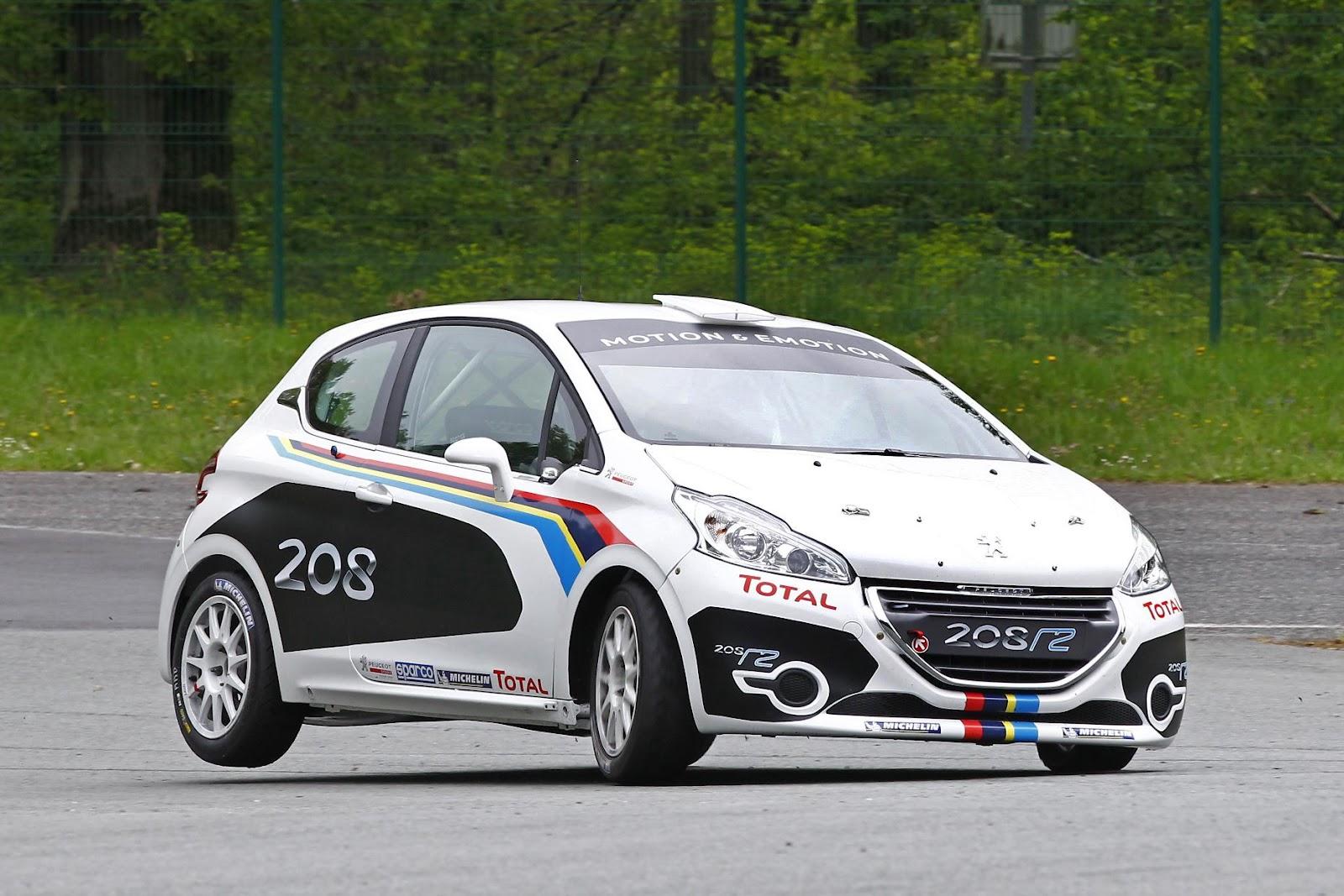 New Peugeot 208 R2