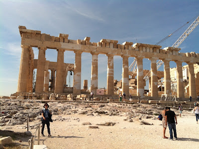 A lesson learned while traveling through Greece