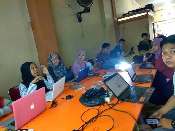 Jadi Pemateri Workshop Blog Yanikmatilah Saja