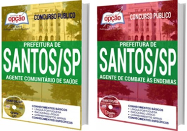 Apostila concurso Prefeitura de Santos 2017