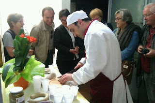 """Slow Food Bigorre tasta el """"Xoriç"""" de Porté-Estop"""