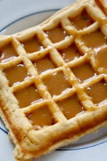 Peanut Butter Waffles with Peanut Butter Syrup: Savory Sweet and Satisfying