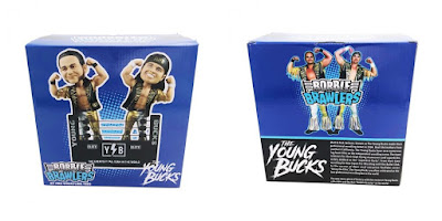 The Young Bucks Bobble Brawlers by Pro Wrestling Tees