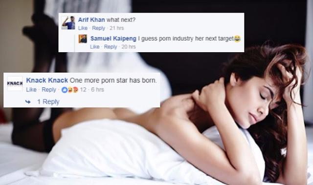 Esha Gupta Called 'Porn Star'