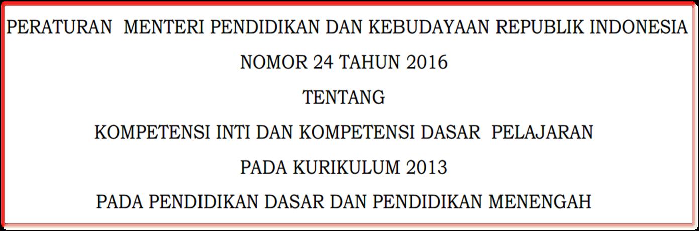 Download Permendikbud Ujian Sd Download Lengkap