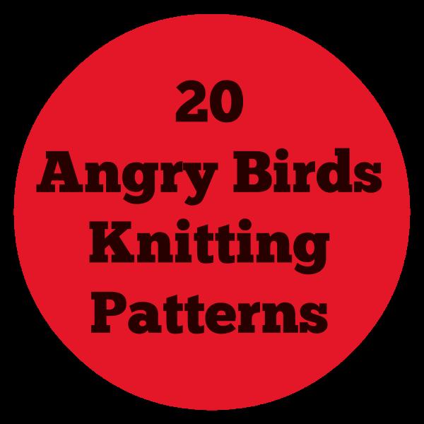 Angry Bird Knitting Patterns