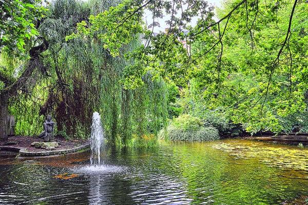 Parque Dvořák en Karlovy Vary, República Checa
