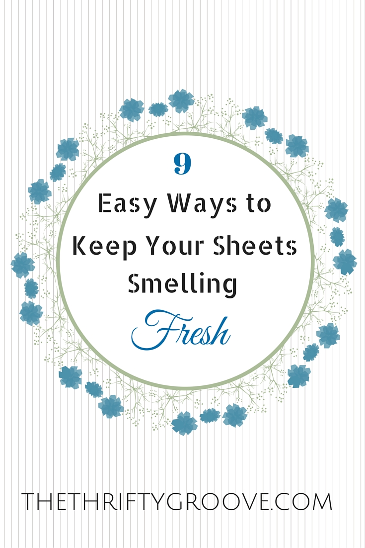 how to get ride of smell from linen sheets