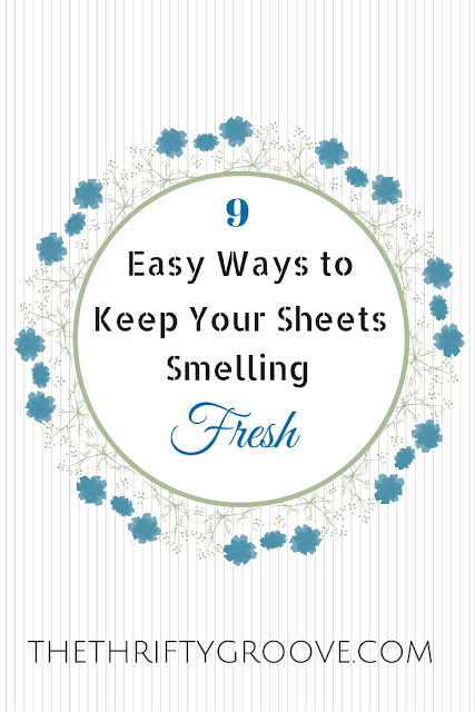 9 ways to keep you sheets smelling nice and fresh by THETHRIFTYGROOVE.COM