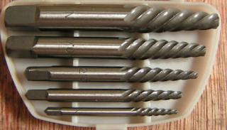 Alat & Cara Membuka Baut Patah Menggunakan Tap Balik (Screw Ectractor)