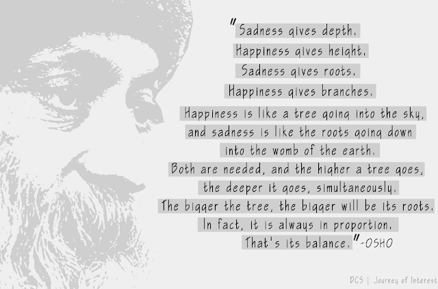 happiness sadness quotes osho
