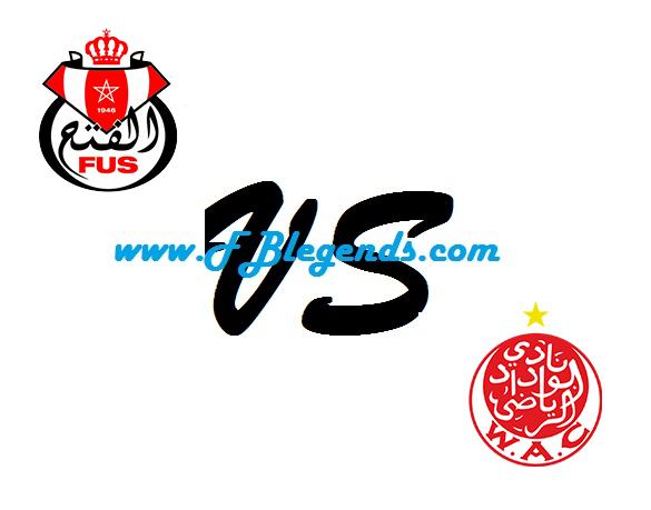 مشاهدة مباراة الوداد والفتح الرباطي بث مباشر في الدوري المغربي يوم 10-9-2017 مباريات اليوم wydad athletic club vs fath union sport