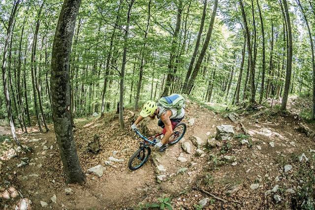 Mountainbike Touren Opatija Kroatien Urlaub ÜBerschreitung Track