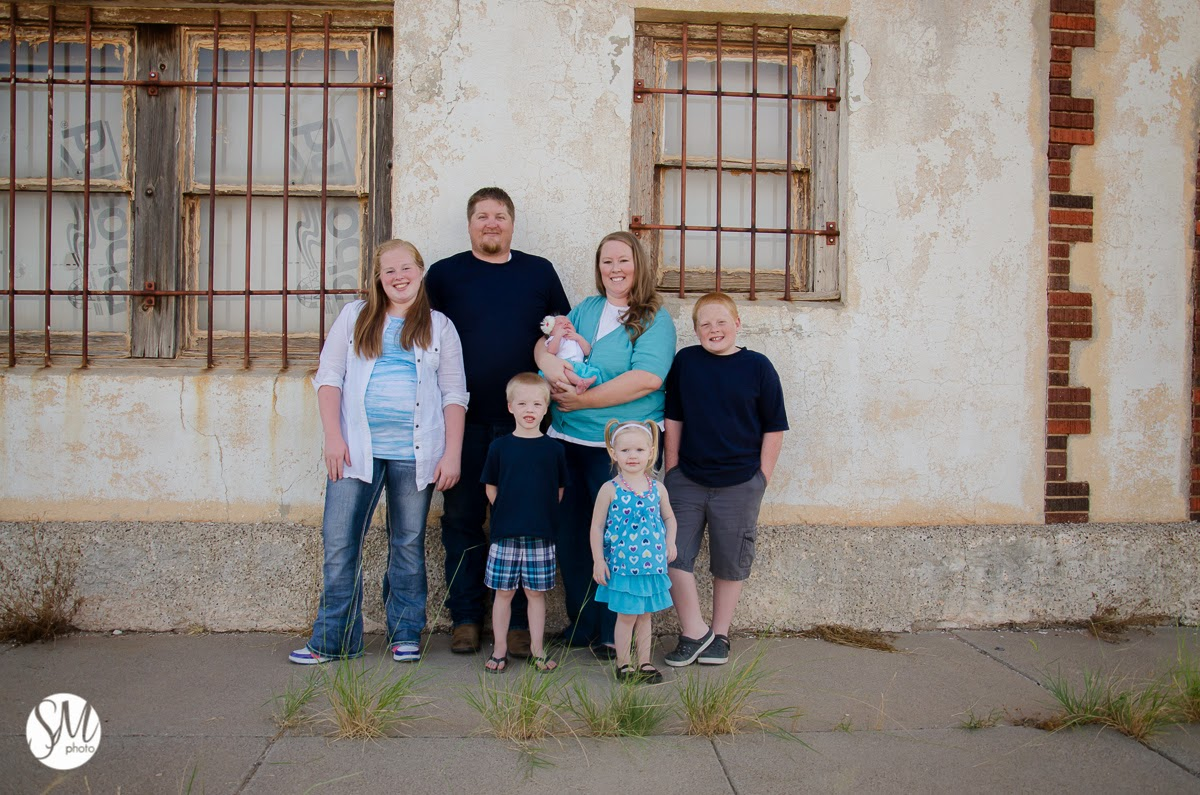 Andrews Texas Family Photographer, Atkinson Family
