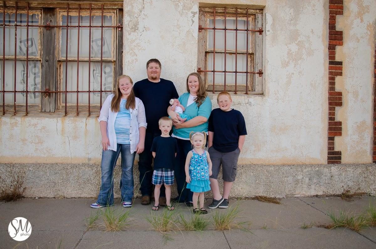 Andrews Texas Family Photographer, Atkinson Family