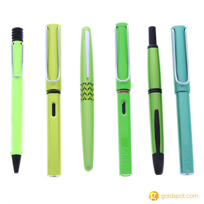 Its Not Easy Being Green - the New Lamy AL-Star Charged Green