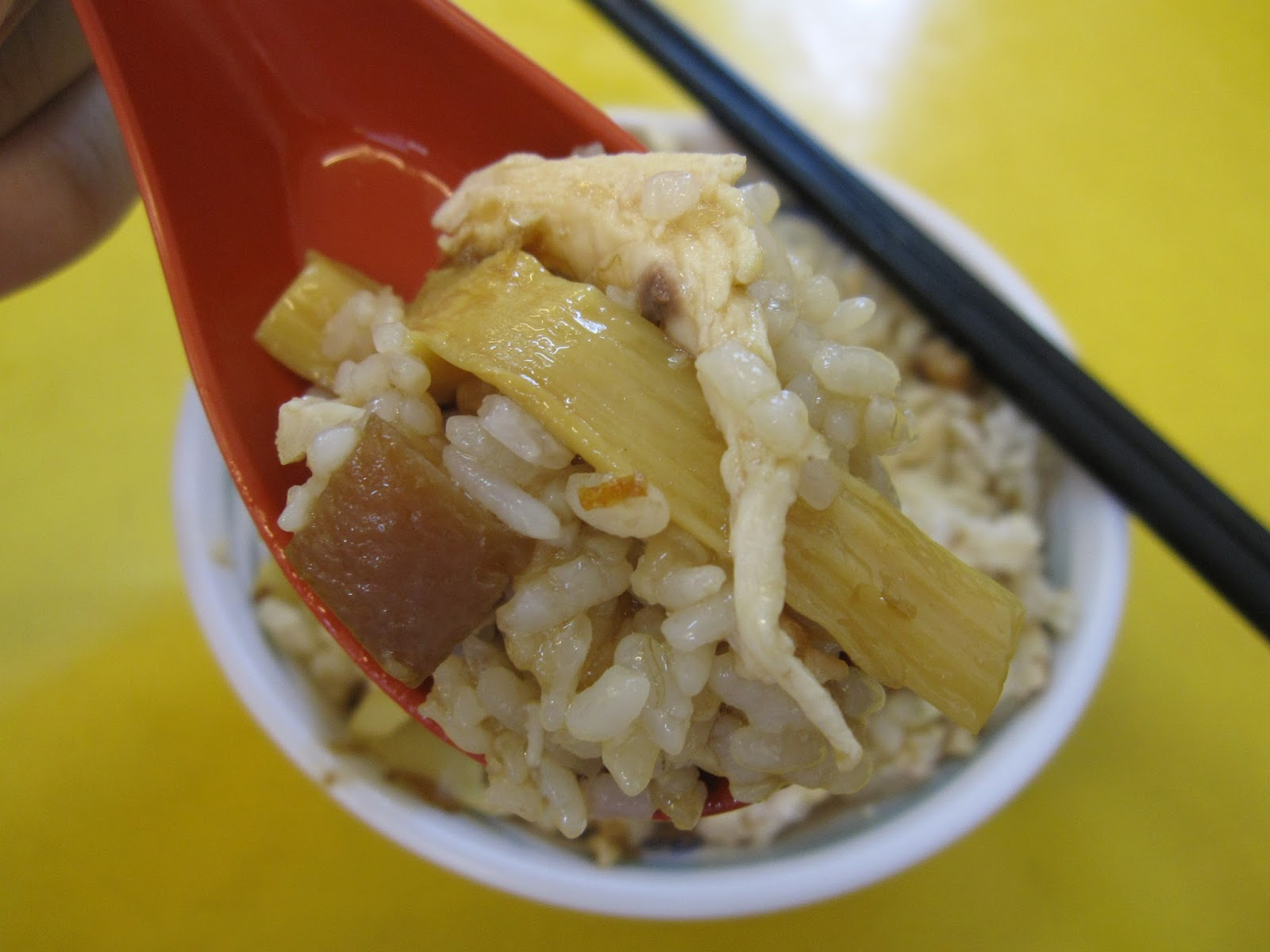 popopig eat everywhere: 臺南 金品雞魯飯