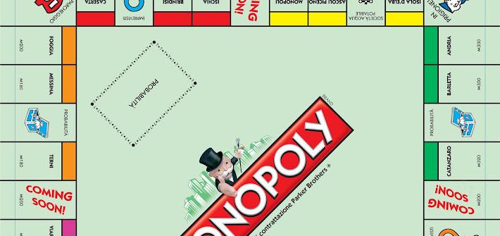 Monopoly cambia look: città italiane al posto delle storiche caselle. Vota anche tu