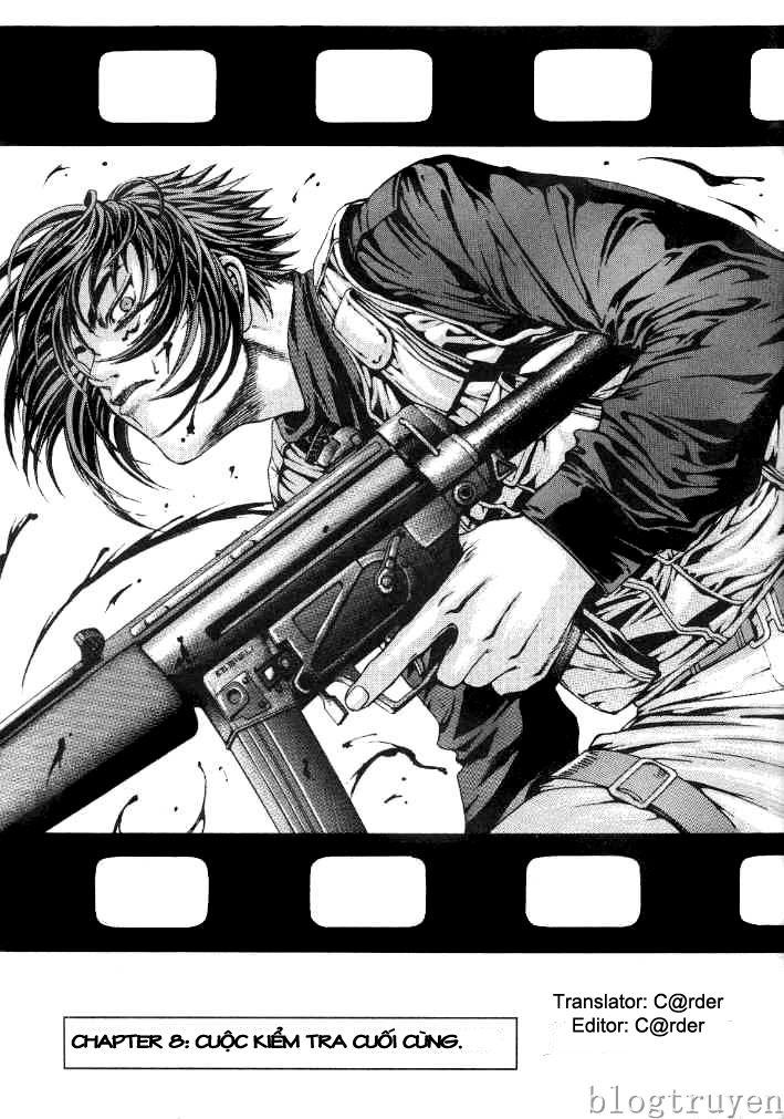 Zombie hunter chap 8 trang 1