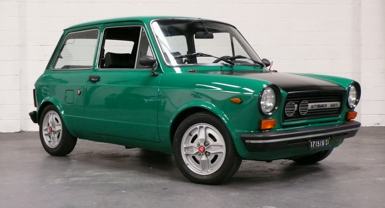 Delicious Autobianchi A112 Abarth Auctioned In The Usa